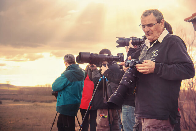 Distancia focal en cámaras réflex