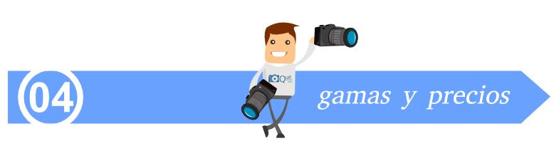 gamas y precios - qué cámara réflex compro