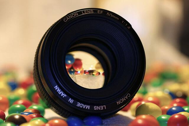 Objetivo de 50mm - qué cámara réflex
