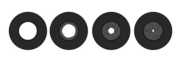 Diafragma de objetivo fotográfico