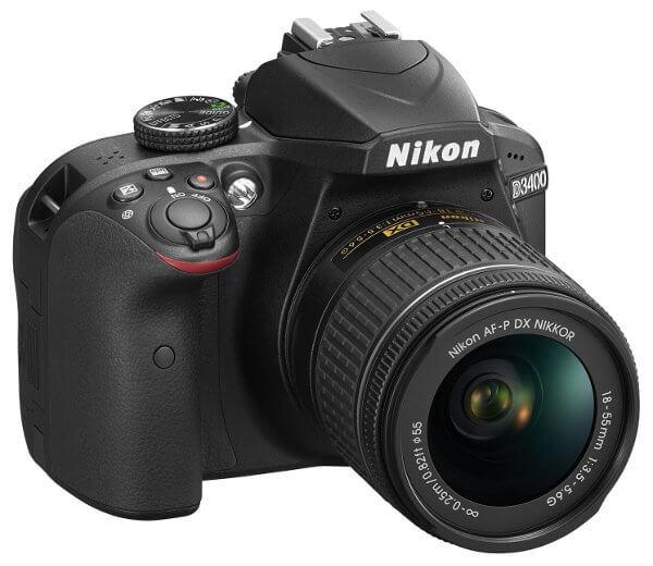Nikon D3400 - Cámara réflex gama entrada