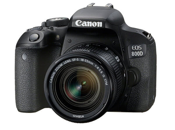 Canon EOS 800D / Rebel T7i. Frontal