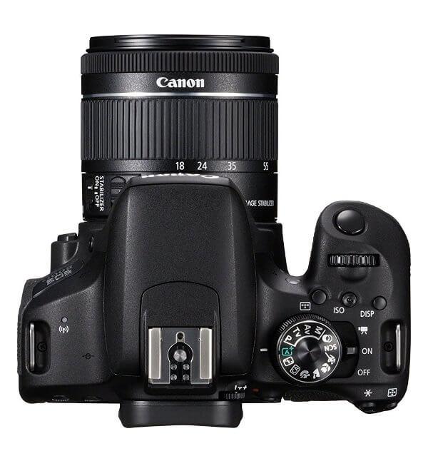 Canon EOS 800D / Rebel T7i. Vista superior