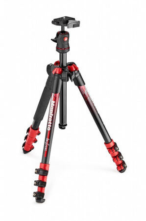 Trípode ligero completo Manfrotto Befree