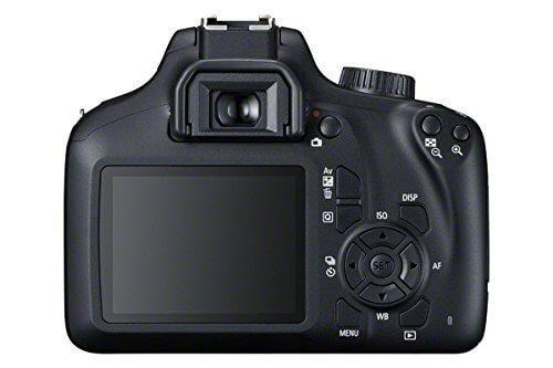 Cámara réflex Canon EOS 4000D / Rebel T100 - Panel trasero