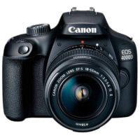 Cámara réflex Canon EOS 4000D / Rebel T100