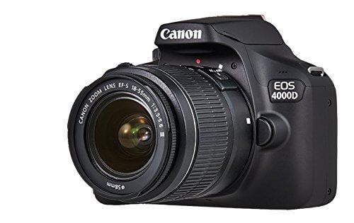 Cámara réflex Canon EOS 4000D / Rebel T100 - Frontal