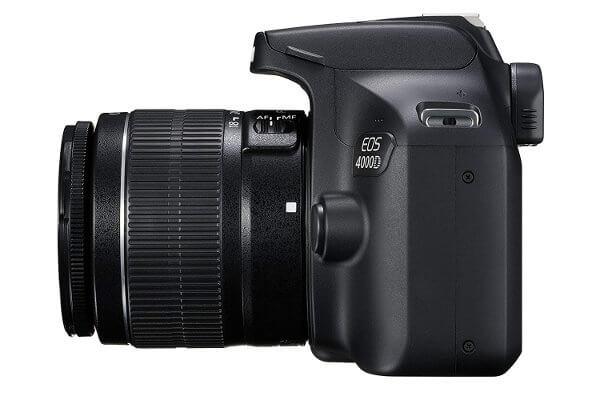Cámara réflex Canon EOS 4000D / Rebel T100 - Lateral