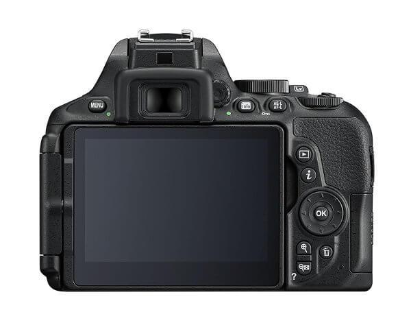 Cámara réflex Nikon D5600 - Controles y botonera