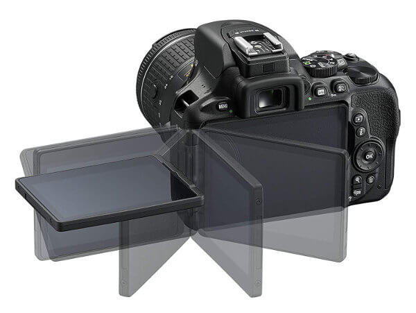 Cámara réflex Nikon D5600 - Pantalla articulada