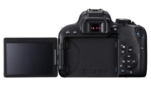 Canon 800D / Rebel T7i - Pantalla articulada