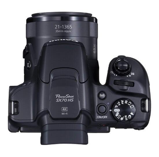 Canon Powershot SX70 HS - Compacta súperzoom