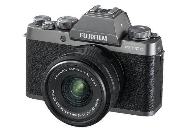 Fujifilm - Fuji X-T100 cámara sin espejo para principiantes