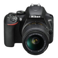 Cámara réflex Nikon D3500 - Frontal