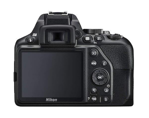 Cámara réflex Nikon D3500 - Pantalla trasera
