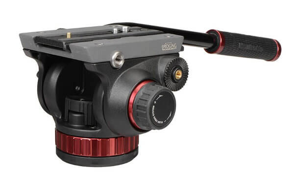 Cabezal de vídeo con base plana - Manfrotto 502AH