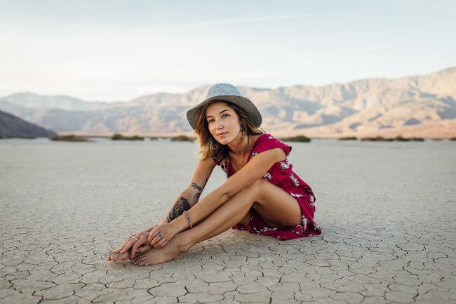 Fotografía de retrato con entorno