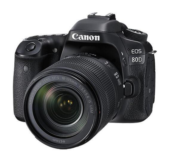 Canon EOS 80D - cámara réflex
