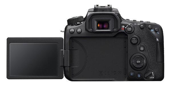 Canon EOS 800D - Pantalla abatible