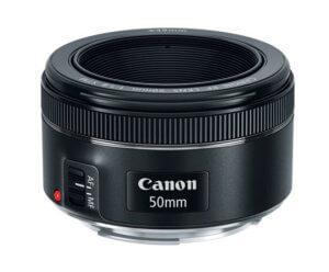 Objetivo Canon 50mm f/1.8