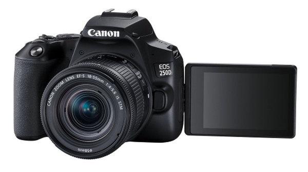 Canon EOS 250D / Pantalla articulada y táctil