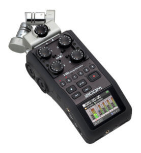 Grabadora de sonido digital Zoom H6