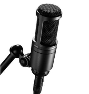 Micrófono de condensador Audio Technica AT2020 XLR