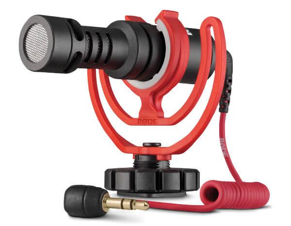 Rode VideoMicro - Micrófono direccional para cámaras