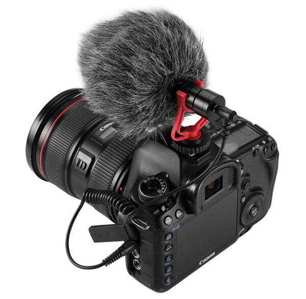 Micrófono direccional para cámaras (on camera)