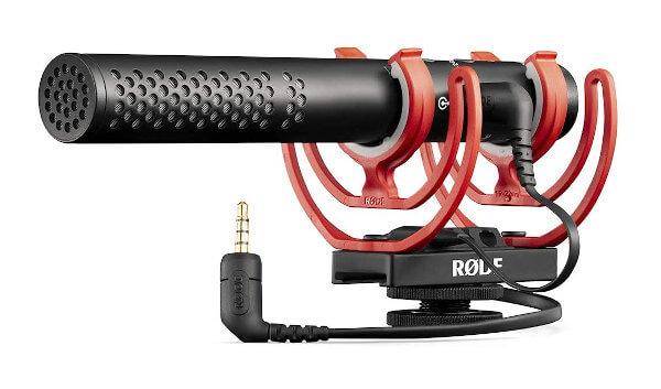 Micrófono direccional para cámara shotgun Rode NTG