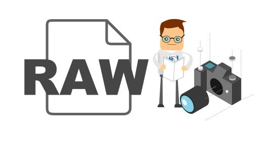 Qué es un fichero RAW
