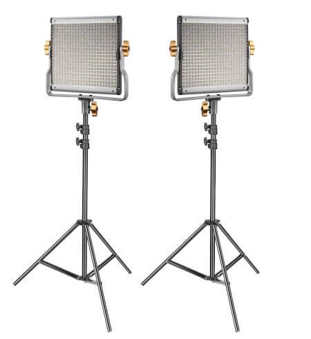 Panel LED para iluminación en fotografía y vídeo