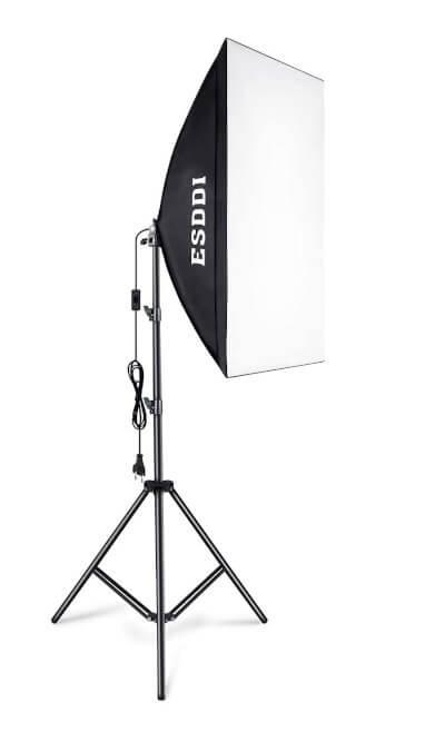 Caja de luz / Softbox para iluminación en fotografía y vídeo