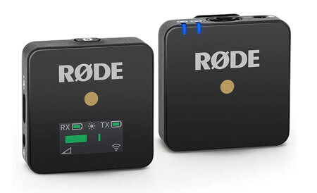 Sistema para micrófono inalámbrico Rode Wireless Go