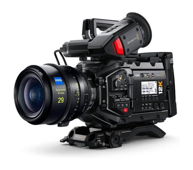 Cámaras orientadas a cine / producciones profesionales
