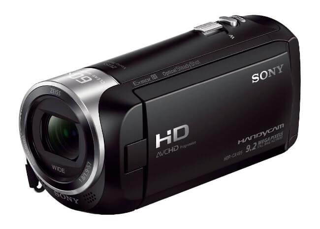 Videocámaras de gama de consumo